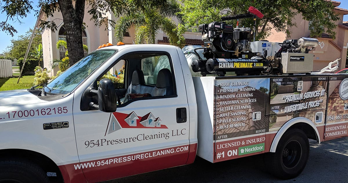 954 Pressure Cleaning
