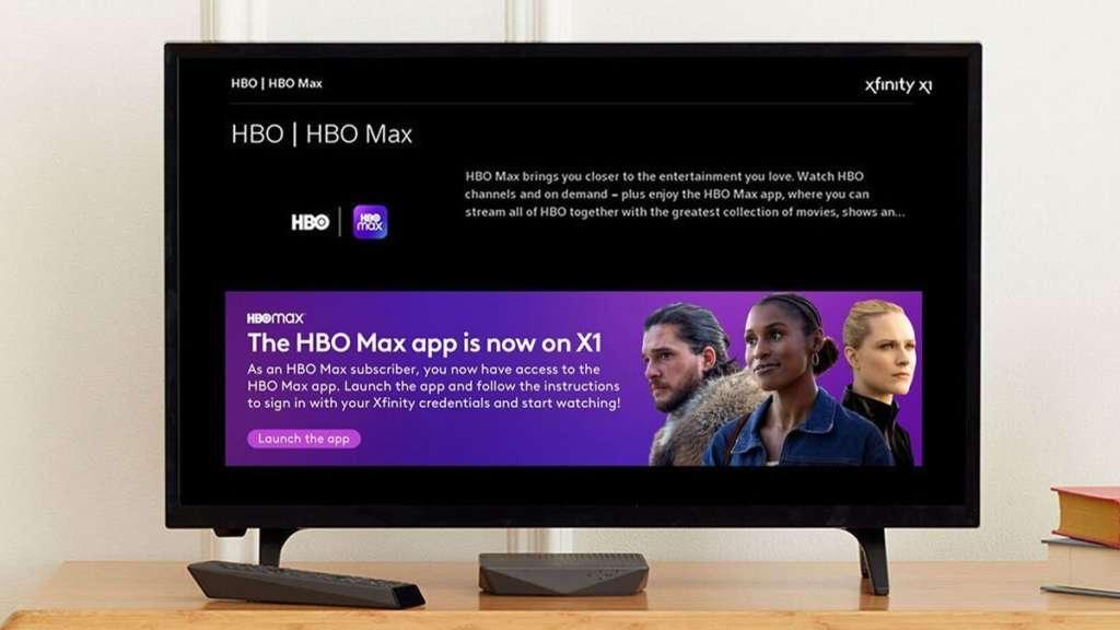 HBOMAX on Xfinity