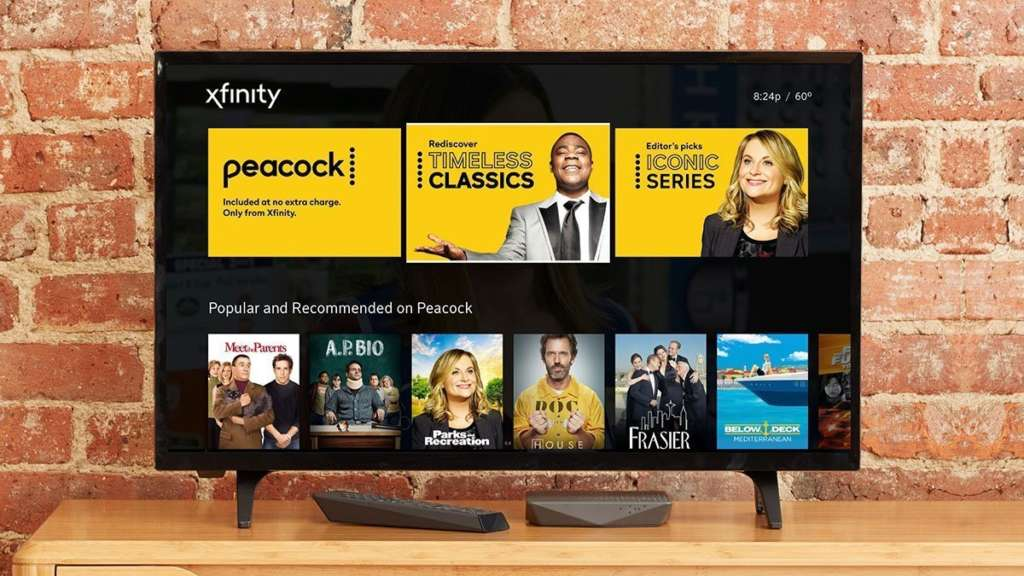 PeacockTV on Xfinity