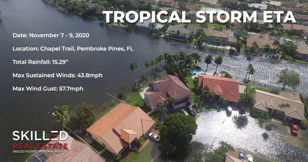 Tropical Storm ETA Summary
